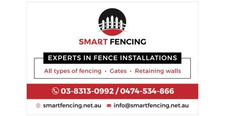 smart fencing - logo/corflute/business card Smart Fencing Craigeiburn 0474 534 866