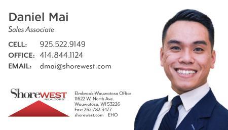 Daniel Mai Shorewest, Realtors® - Wauwatosa, WI 53226 - (925)522-9149 | ShowMeLocal.com