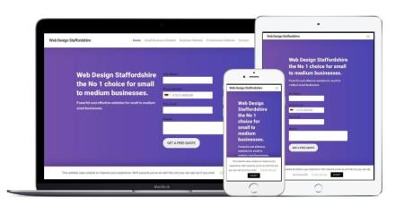Web Design Staffordshire - Stoke-On-Trent, Staffordshire ST8 6DX - 07882 064592 | ShowMeLocal.com