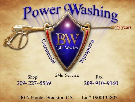 Bw Power Washing - Stockton, CA 95202 - (209)898-4569   ShowMeLocal.com