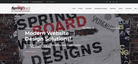Springboard Website Design and Development - Meridian, ID 83642 - (208)614-1590 | ShowMeLocal.com
