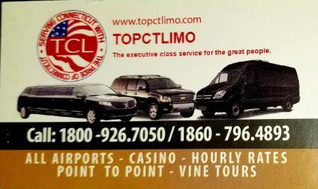 www.topctlimo.com Ct Airport Limo Service Meriden (860)796-4893