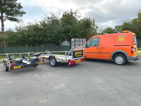 Mototcycle Trailers 4 Hire