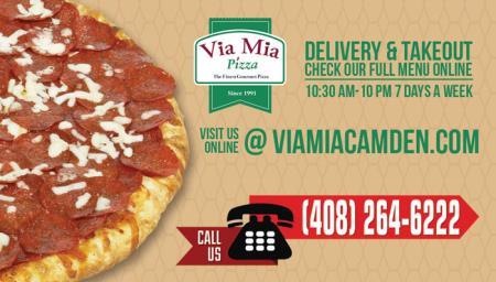 Via Mia Pizza - Camden Ave