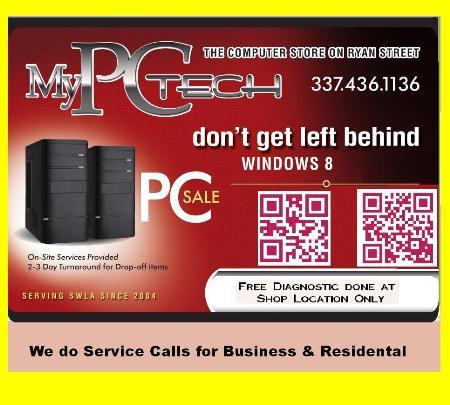 My PC Tech - Lake Charles, LA 70601 - (337)436-1136   ShowMeLocal.com