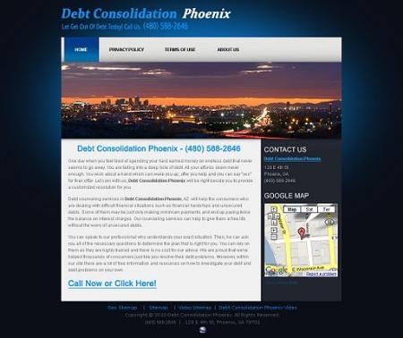 Debt Consolidation Phoenix - Phoenix, AZ 85004 - (480)588-2646   ShowMeLocal.com