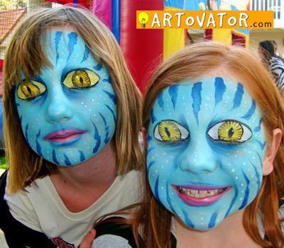 ARTovator:  Face Painting with Love! - Aliso Viejo, CA 92656 - (949)357-0557   ShowMeLocal.com