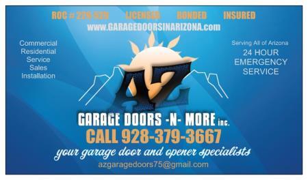 AZ Garage Doors-N-More Inc. - Prescott Valley, AZ 86314 - (928)379-3667 | ShowMeLocal.com