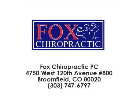 Fox Chiropractic PC - Broomfield, CO 80020 - (303)747-6797 | ShowMeLocal.com