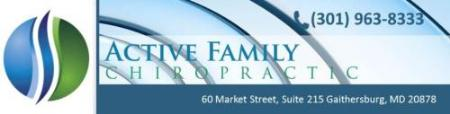 Active Family Chiropractic - Gaithersburg, MD 20878 - (301)963-8333 | ShowMeLocal.com
