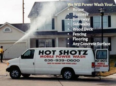 Hot Shotz Power Wash - Saint Peters, MO 63376 - (636)939-0600   ShowMeLocal.com