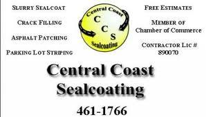 Central Coast Sealcoating - Templeton, CA 93422 - (805)461-1766 | ShowMeLocal.com
