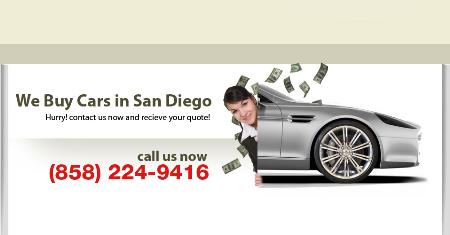 We Buy Cars San Diego - San Diego, CA 92108 - (858)224-9416   ShowMeLocal.com