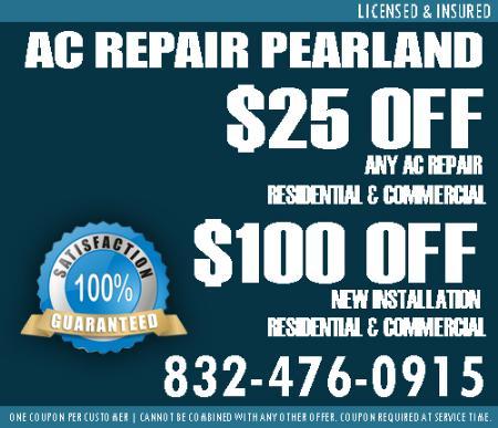 Air Conditioning Repair & Install - Pearland, TX 77581 - (832)476-0915   ShowMeLocal.com