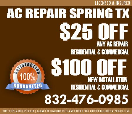 Ac Heating And Cooling Service - Spring, TX 77373 - (832)476-0985   ShowMeLocal.com