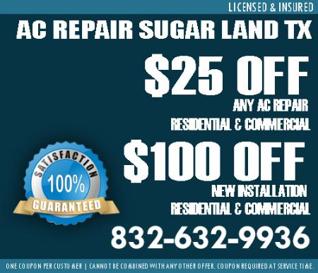 Ac Service - Free Estimate Sugar Land Tx - Sugar Land, TX 77496 - (832)632-9936   ShowMeLocal.com