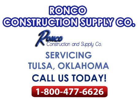 Ronco Construction & Supply - Tulsa, OK 74146 - (918)622-3341 | ShowMeLocal.com