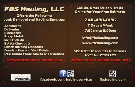 Fbs Hauling, Llc - Middletown, MD 21769 - (240)490-0196 | ShowMeLocal.com