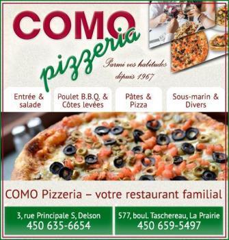Como Pizzeria - Delson, QC J5B 1Z3 - (450)635-6654 | ShowMeLocal.com