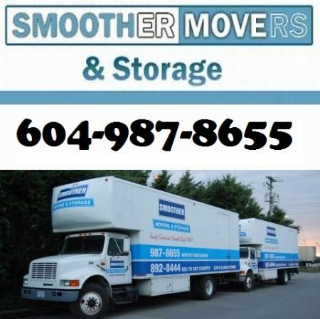 Smoother Movers - North Vancouver, BC V7J 1A1 - (604)987-8655 | ShowMeLocal.com