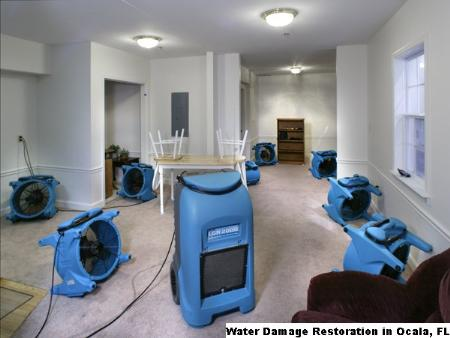 Water Damage Restoration - Ocala, FL 34470 - (888)491-5860 | ShowMeLocal.com