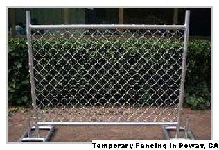 Temporary Fencing - Poway, CA 92064 - (888)289-9933 | ShowMeLocal.com