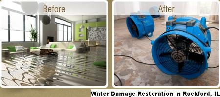 Water Damage Restoration - Rockford, IL 61101 - (888)491-5860 | ShowMeLocal.com