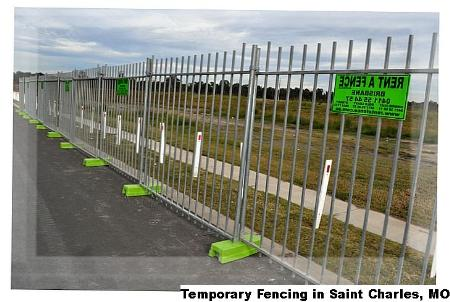 Temporary Fencing - Saint Charles, MO 63301 - (888)289-9933 | ShowMeLocal.com