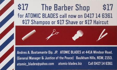 ATOMIC BLADES - The Barber Shop and Events
