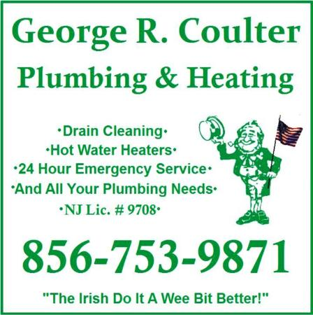George R. Coulter Plumbing & Heating, Inc. - Marlton, NJ 08053 - (856)753-9871 | ShowMeLocal.com