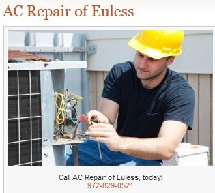 Ac Repair Of Euless - Euless, TX 76040 - (972)829-0521 | ShowMeLocal.com