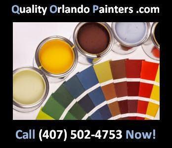 Quality Orlando Painters Orlando (407)502-4753