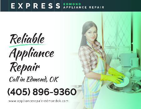 Express Appliance Repair Of Edmond - Edmond, OK 73034 - (405)896-9360   ShowMeLocal.com