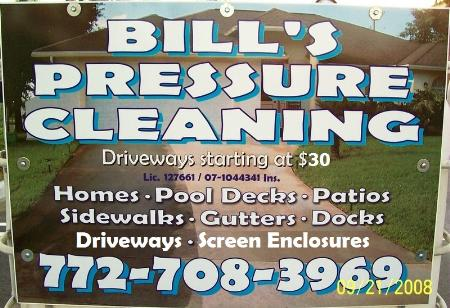 Bills Pressure Cleaning Plus Barrel & Flat-Tile Roof Cleaning - Port Saint Lucie, FL 34984 - (772)708-3969 | ShowMeLocal.com