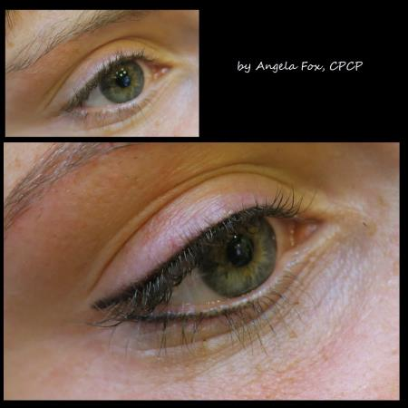 accent your favorite feature!  eyeliner defines and enhances the elegance of the eyes, and can be applied in several customized styles and colors.  whether you're looking for a subtle, natural  eyelash line enhancement or a more dramatic look, we can tailor the artistic design to meet your desired needs. RX Beauty Inks Permanent Makeup and Academy Houston (281)795-0130