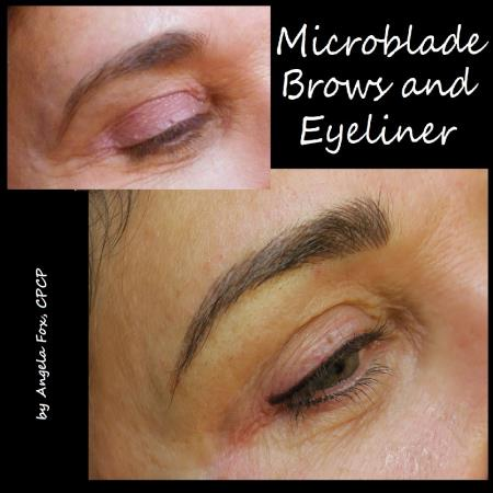 each client receives customized artistry designed to correct, reshape, or restore their brows and eyeliner into a more pleasing facial feature. whether it be a soft, powdery eyebrow or bold eyeliner with our state of the art equipment and artistic ability can create the look you desire. the permanent  enhancement of eyebrows and eyeliner will give you the freedom of never using brow pencils or liners again! save 10% when you book 2 procedures at the same appointment RX Beauty Inks Permanent Makeup and Academy Houston (281)795-0130