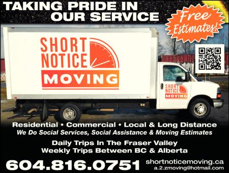 Short Notice Moving & Packing Services - Vancouver, BC V5L 1W5 - (604)816-0751 | ShowMeLocal.com