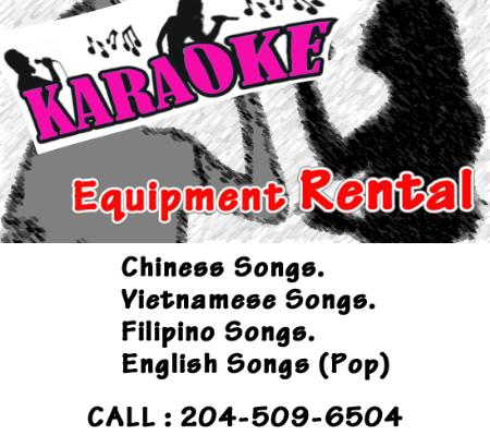 Karaoke Equipment Rental - Winnipeg, MB  - (204)509-6504 | ShowMeLocal.com