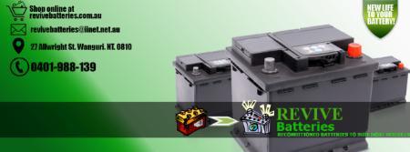 Revive Batteries - Wanguri, NT 0810 - 0401 988 139 | ShowMeLocal.com