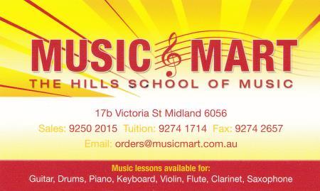 Music Mart - Midland, WA 6056 - (08) 9250 2015 | ShowMeLocal.com
