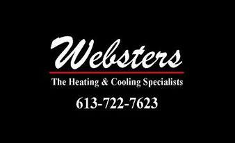 Websters The Heating & Cooling Spec - Ottawa, ON K1Z 5K1 - (613)722-7623 | ShowMeLocal.com